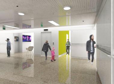 Diseño piso 7 VIP del edificio FCV de Manizales, Caldas